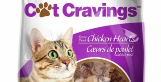 Dog Bites - Gâteries pour chat au coeur de poulet 35g