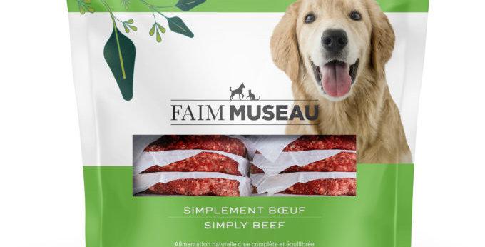 Faim Museau - Simplement boeuf chien et chat 6lbs
