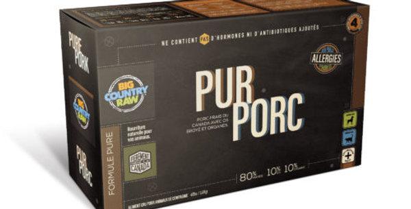 BCR - Formule pure pour chien au porc 4lbs