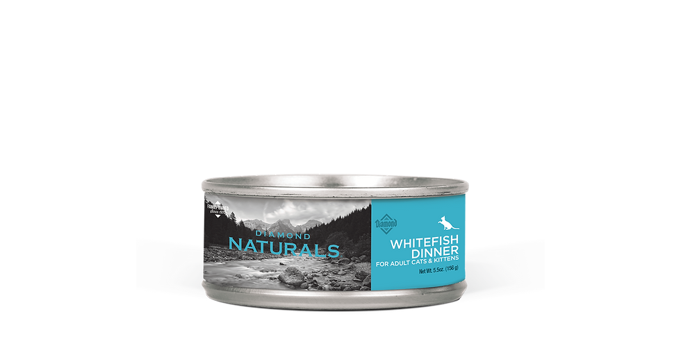 Diamond Naturals - Chat dîner de poisson 156g