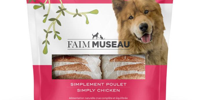 Faim Museau - Simplement poulet chien et chat 6lbs