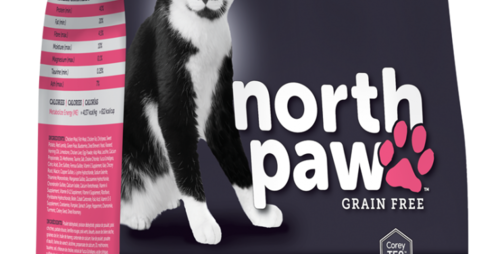North Paw - Chat tous âges sans grain 2,25Kg