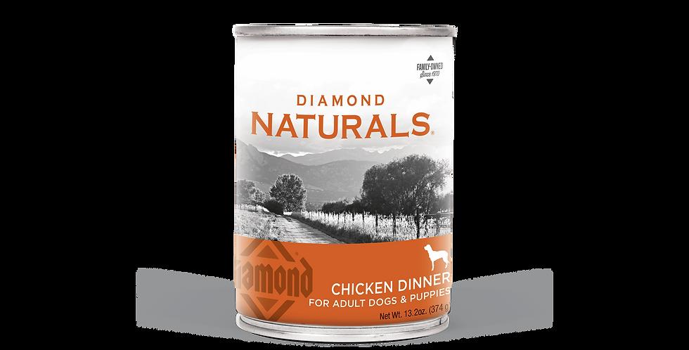 Diamond Naturals - Chien repas de poulet 374g