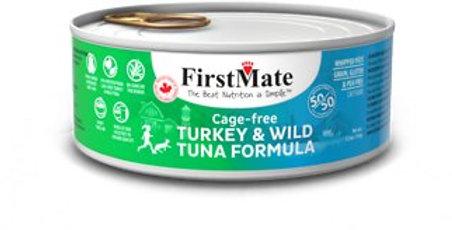 FirstMate conserve pour chat et chaton à la dinde et au thon 5.5oz