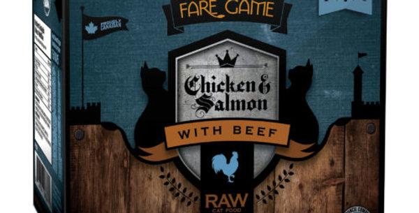 BCR - Formule pour chat au poulet, au saumon et au boeuf 2lbs