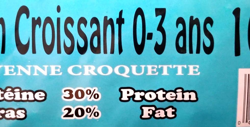 Moulées Gagnon - Chien / Chiot croissant moyennes croquettes 16Kg