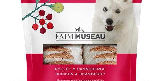 Faim Museau - Poulet et canneberges 6lbs