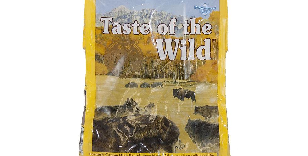 Taste of the wild - Formule pour chiens avec bison rôti et gibier 12.7Kg