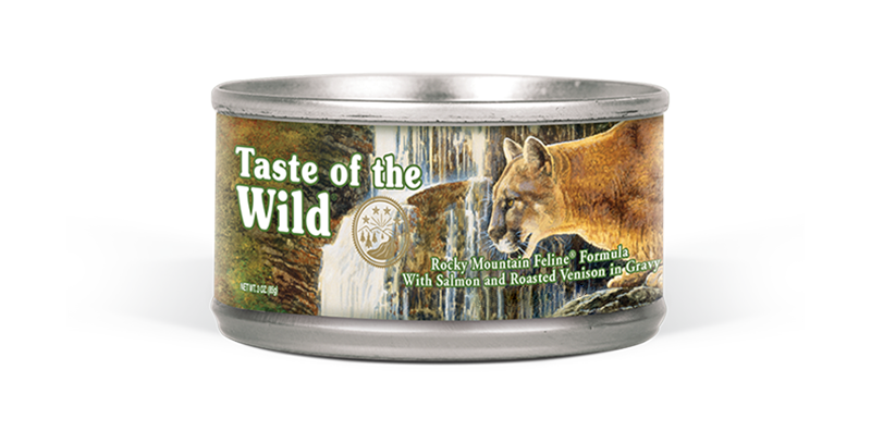 Taste of the Wild - Chat rocky mountain 156g