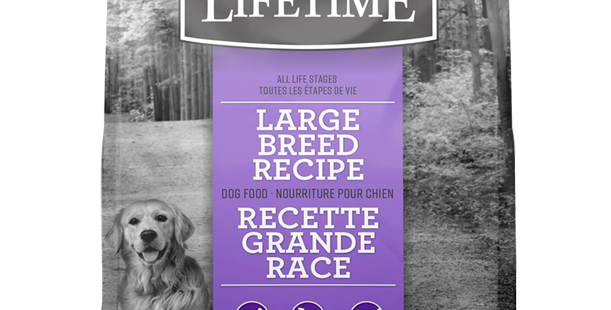 Lifetime - Chien grande race 11,4Kg