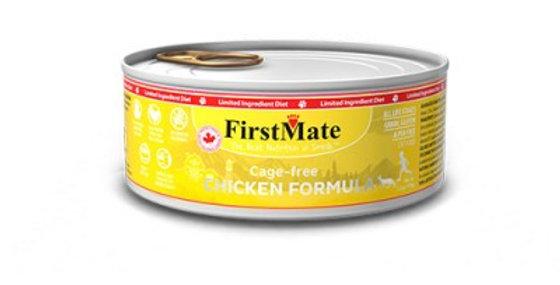 FirstMate - Conserve au poulet pour chats et chatons 156g/5.5onz