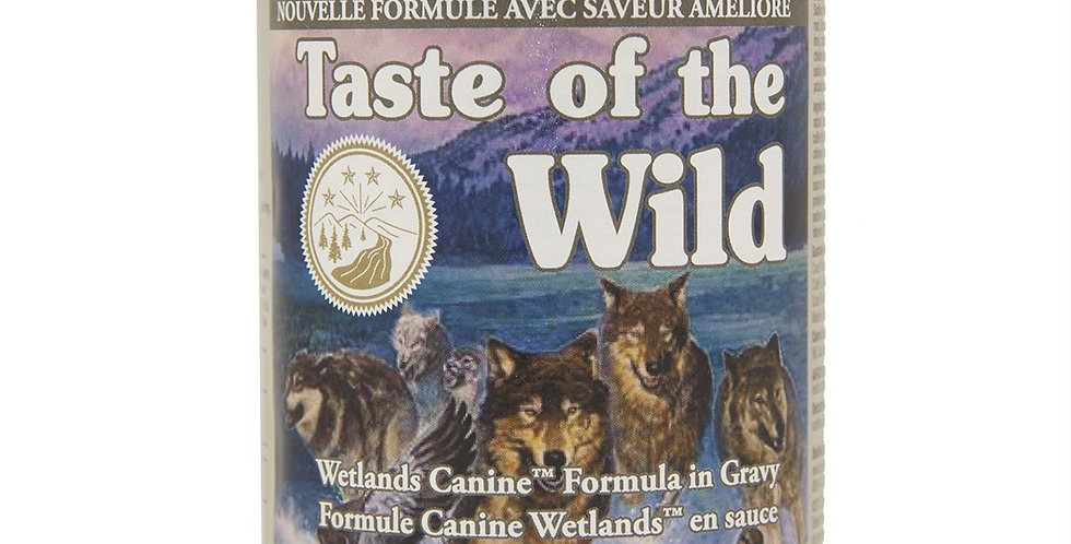 Taste of the Wild - Chien canard, poulet et caille 374g