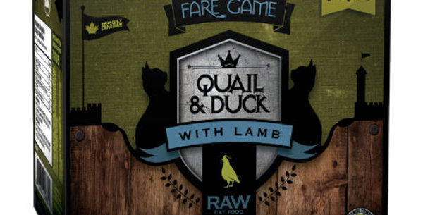 BCR - Formule pour chat à la caille, au canard et à l'agneau 2lbs