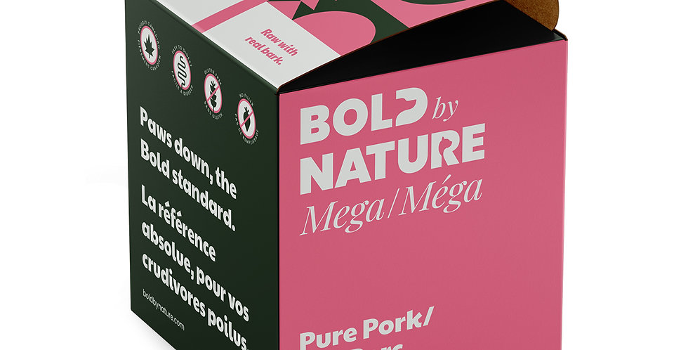 Bold by Nature - Méga Pur Porc 4lbs