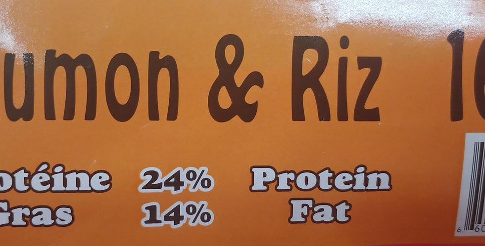 Moulées Gagnon - Saumon et riz 16kg