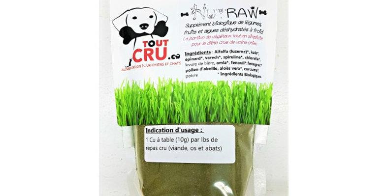 ToutCru - Supplément biologique NutRaw