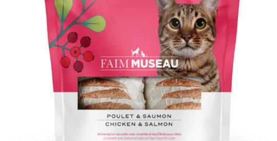 Faim Museau - Poulet et Saumon POUR CHAT 6lbs