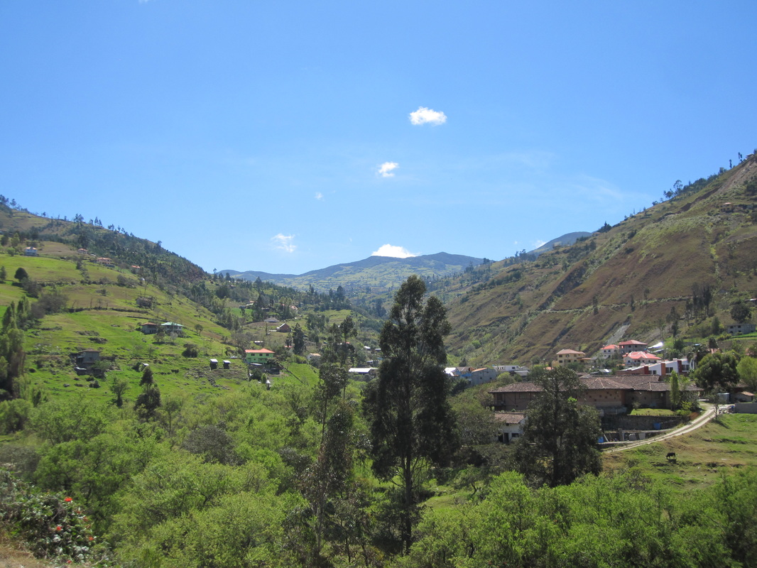 Near Cuenca, in the Andean highlands