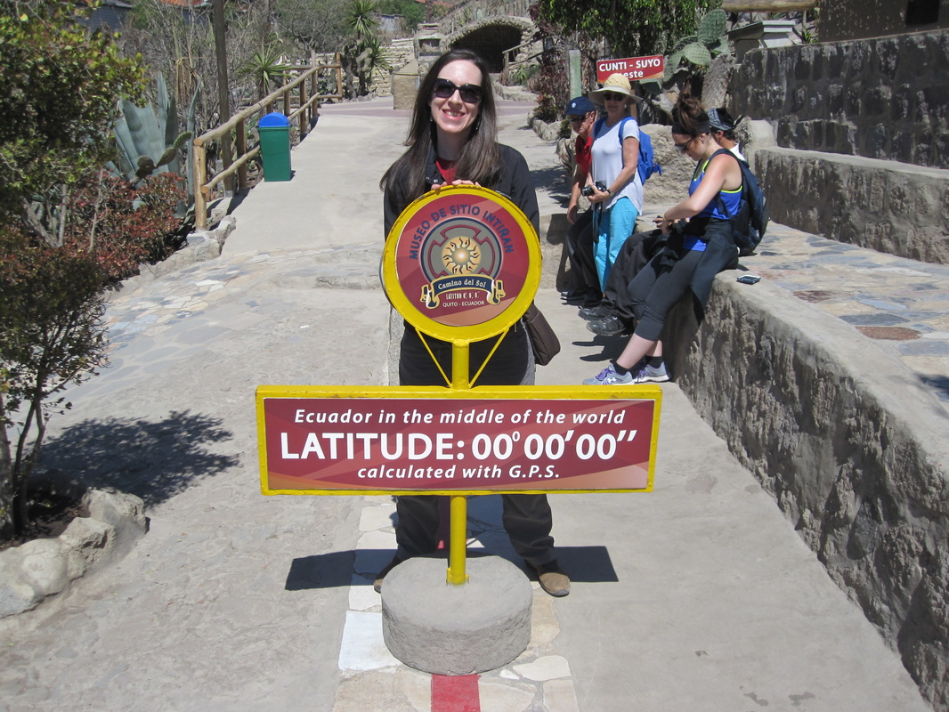 Straddling the Equator!