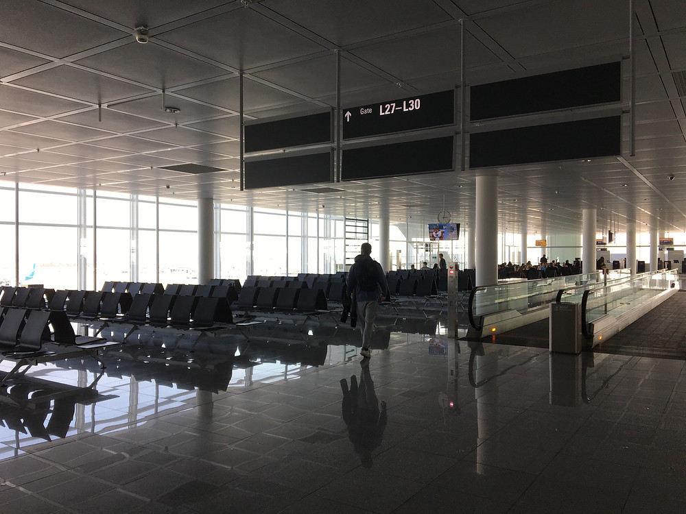 The Munich airport (or the Twilight Zone?)