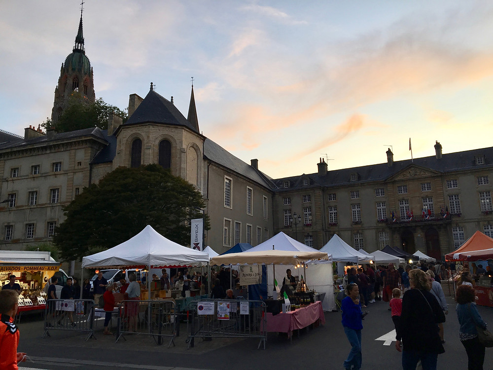 A perk of summer travel: lively markets and daylight at 9:30pm