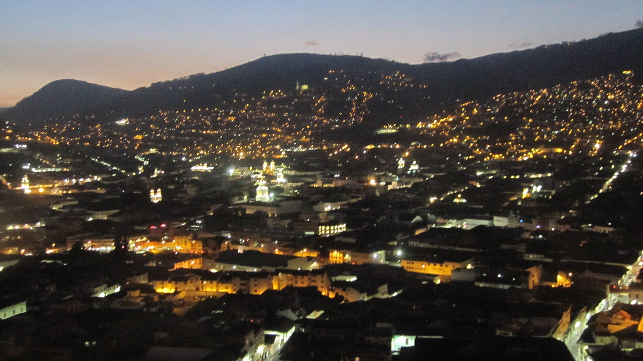 Final night in Quito