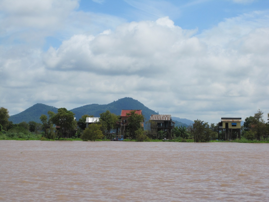 Along the Tonle Sap River, Cambodia