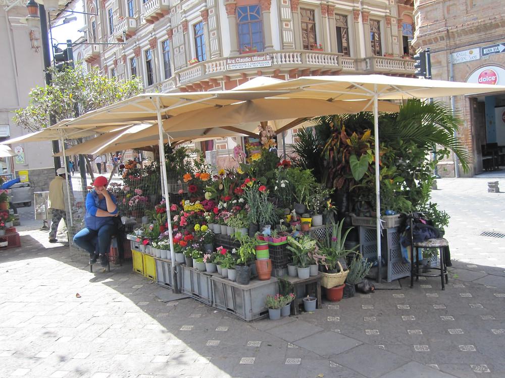 A small business in Cuenca, Ecuador