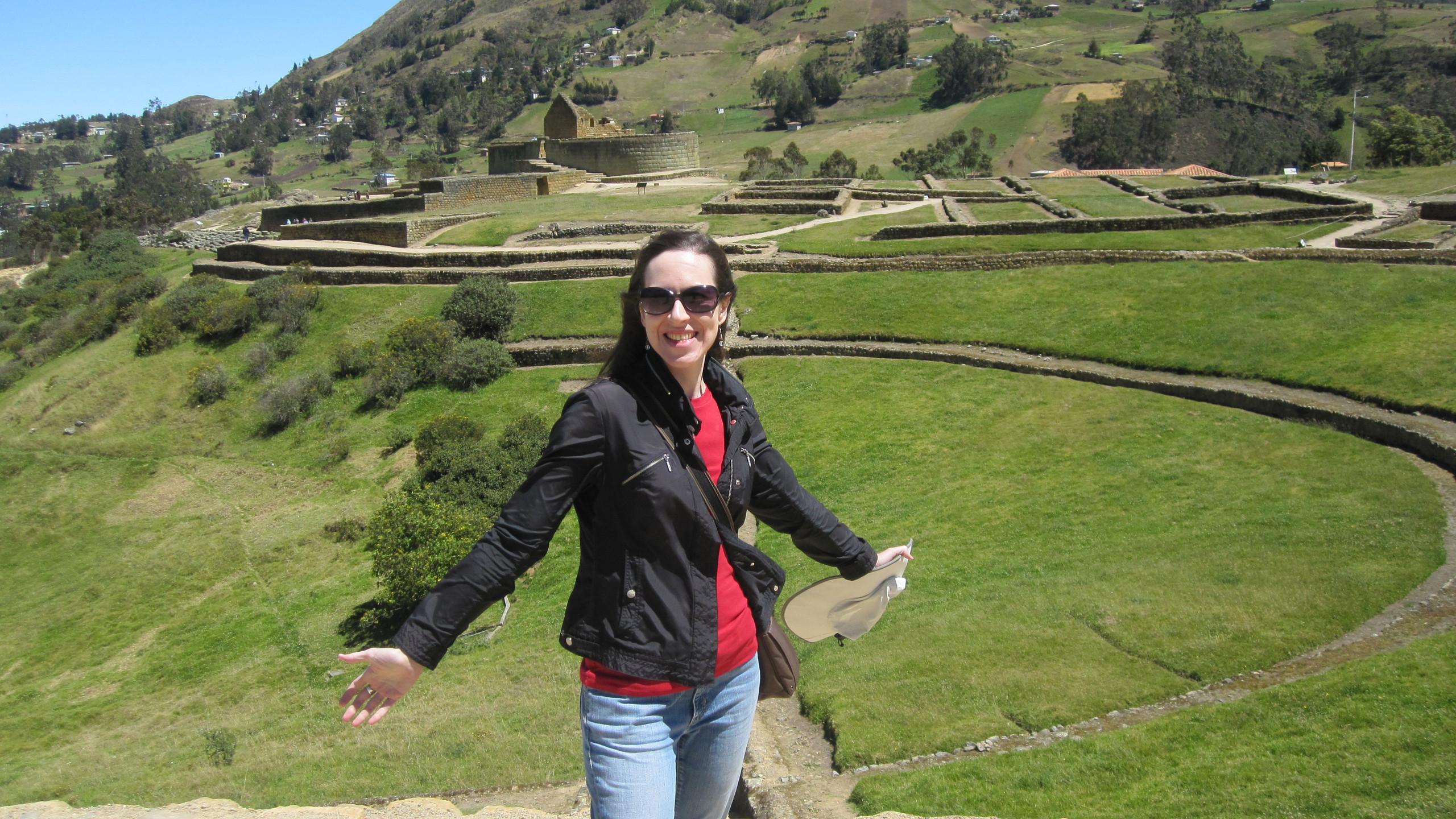 The Ingapirca ruins