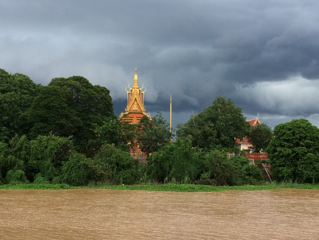 Buddhist temple, Cambodia