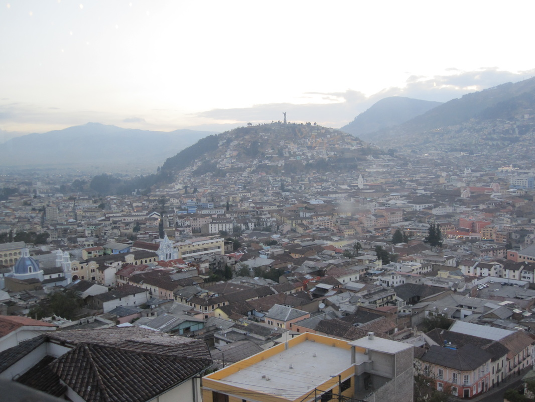 Quito at dusk, again