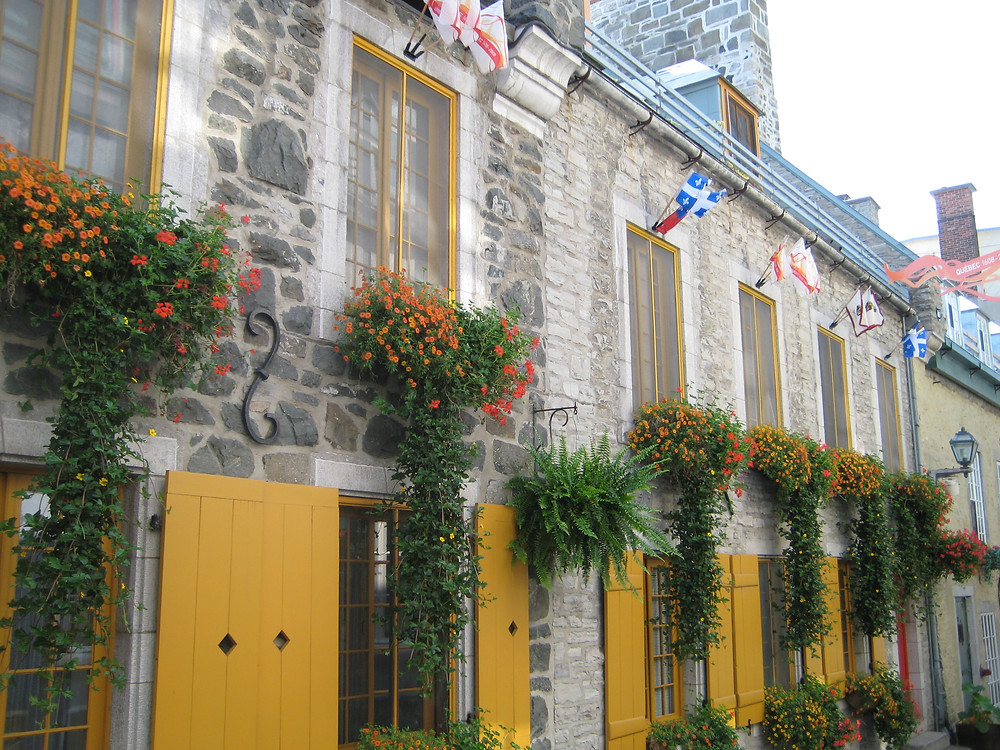 Ever-charming Quebec City.  Thank goodness the Canadians let me in!