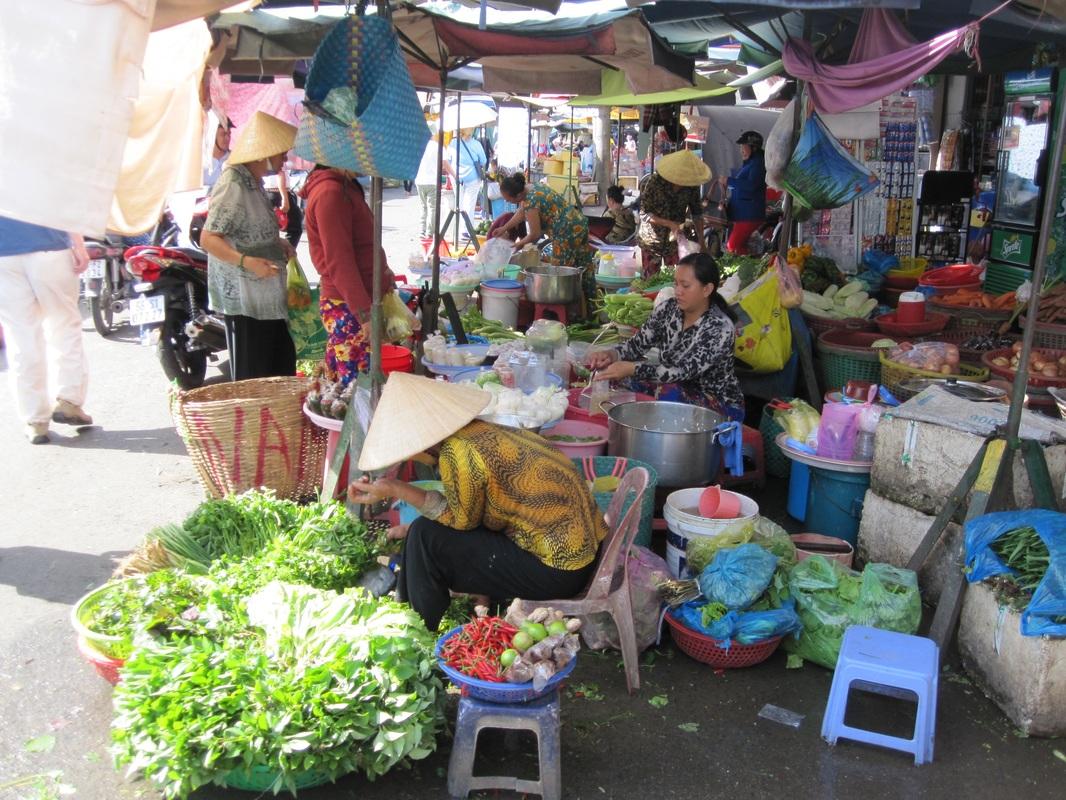 Street market, Vietnam