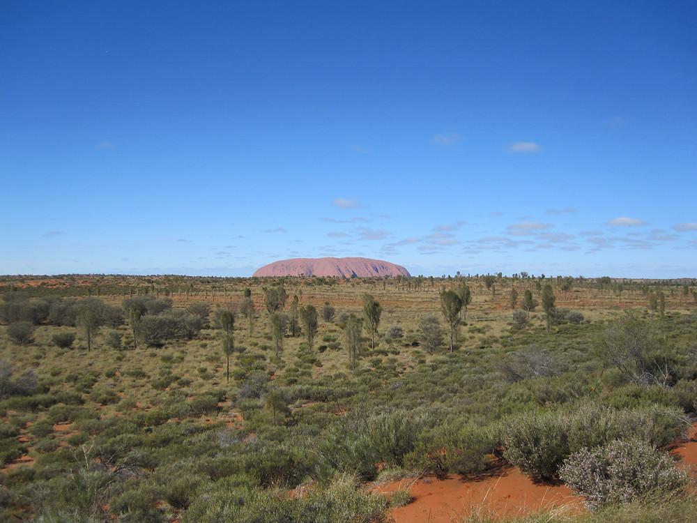 A long way from home (Uluru, Northern Territory, Australia)