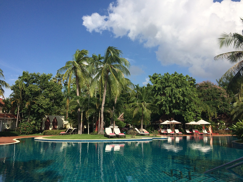 Springing for a hotel with a pool in a tropical destination? Total pro move!