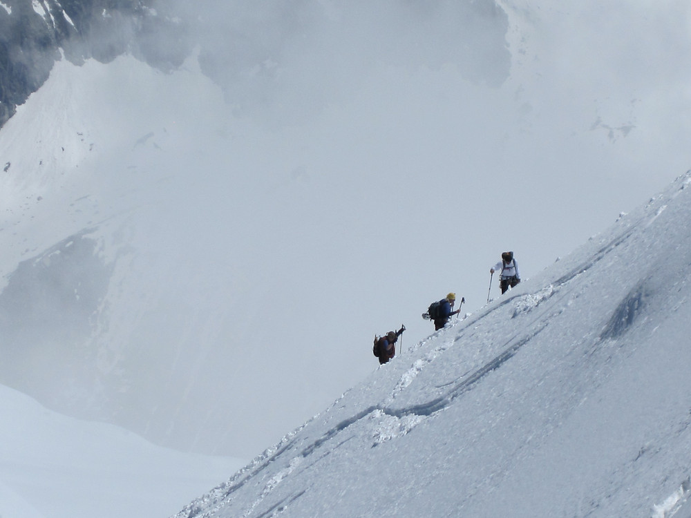 Just because these guys are climbing Mont Blanc, doesn't mean you have to!
