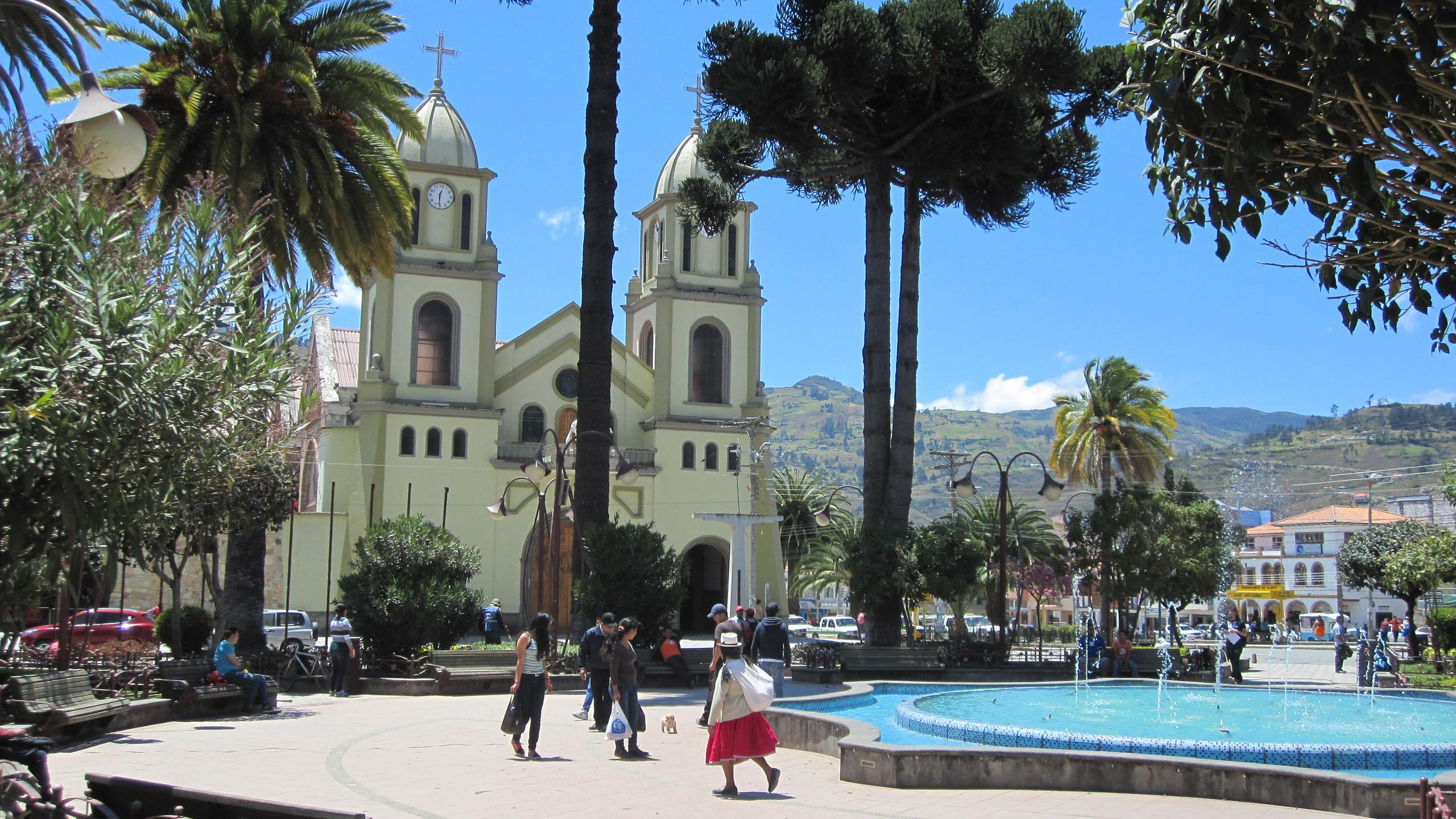 The tiny town of Santa Barbara
