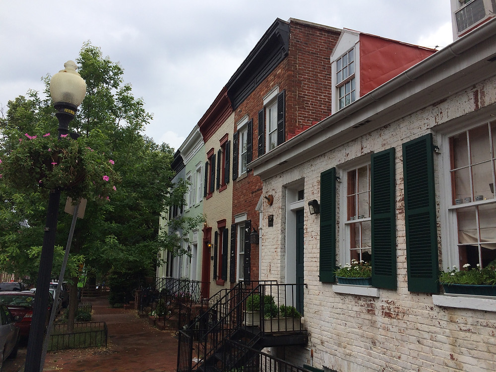 Authentic Georgetown architecture