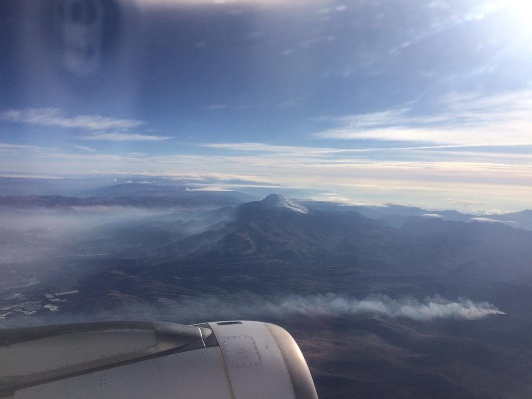 Volcanoes in the sky