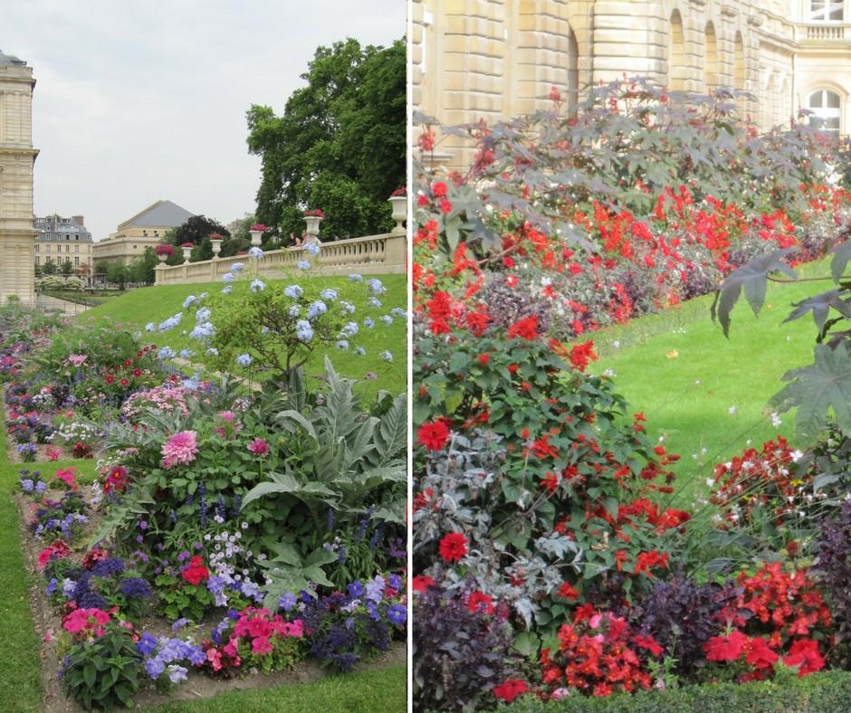 Even the gardens of Paris get a seasonal update.