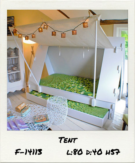 TENT KIDBED WITH TRENDLE