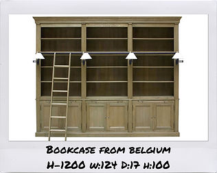 BOOKCASE FROM BELGIUM