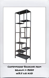 CONTEMPORARY BOOKCASE