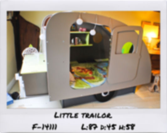 CAMPER KIDS BED