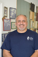 Charlie Saah, owner of C & S Refinishing and Upholstery