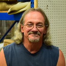 Rick, uphosterer at C & S Refinishing and Upholstery