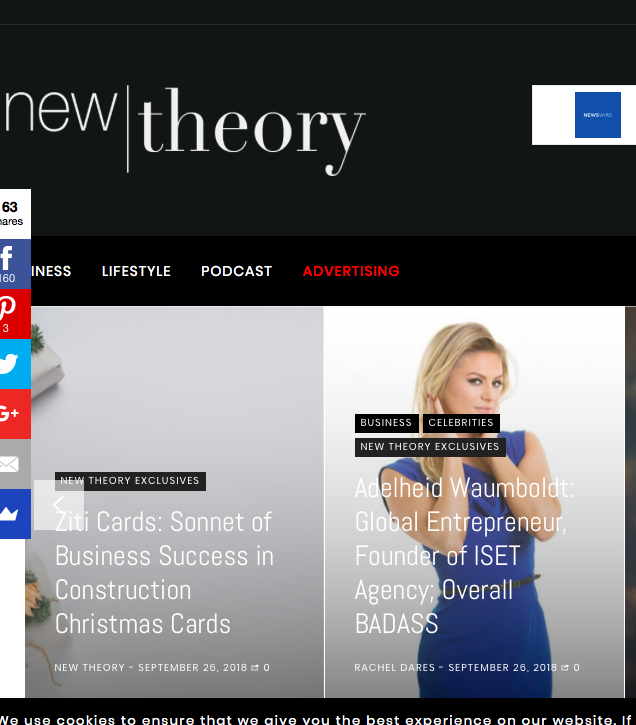 New Theory Mag with Adelheid Waumboldt
