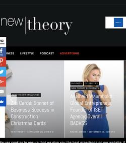 New Theory Mag with Adelheid Waumboldt