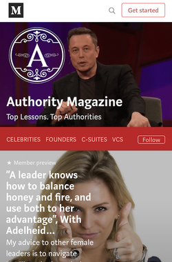 Authority Mag with Adelheid Waumboldt