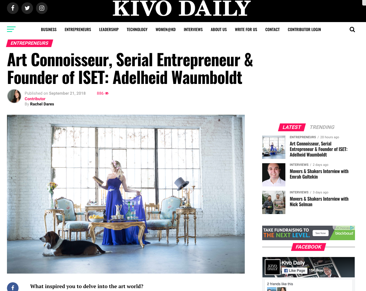 Kivo Daily with Adelheid Waumboldt